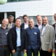 NorTex workshop organizers (left-right): Thor Ole Gulsrud (IRIS), Benoit Dairaux (IRIS), Pradeepkumar Ashok (University of Texas – Austin), Chunming Rong, Fionn Iversen (IRIS), Nejm Saadallah (IRIS), Søren Kragholm (University of Agder), Jan Helge Viste (GCE NODE), Jan Ødegaard (Rice University) and Marianne Engvoll (GCE NODE).