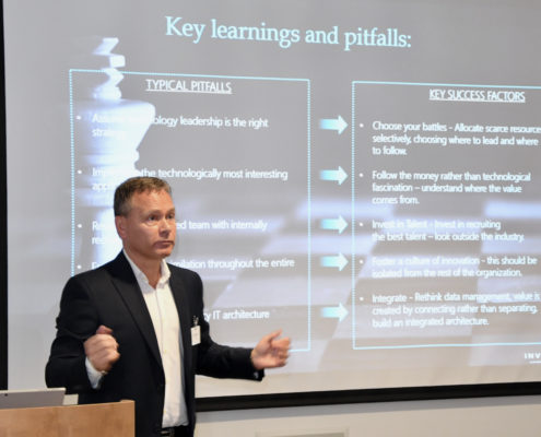 Former Equinor executive Trond Ellefsen says the oil and gas industry is lightyears behind other industries when it comes to digitalization.